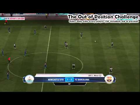 Out of Position Challenge | FIFA 12 Manual Controls