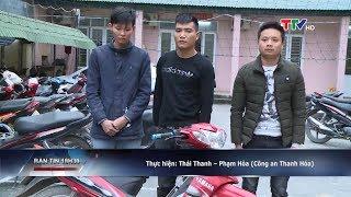 Công an Thành phố Thanh Hóa bắt 4 đối tượng cướp tài sản