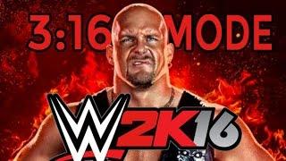 WWE 2K16 - 2K Showcase - Austin 3:16 Gameplay