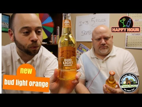Bud Light Orange: First Taste Review