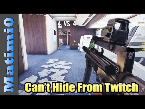 Can't Hide From Twitch - Rainbow Six Siege