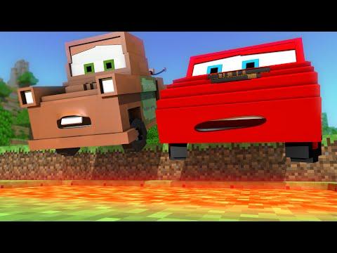 """Disney Pixar's Cars in Minecraft 2"" - Animation"