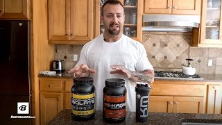 Micropure Whey Protein Isolate vs. Re-Kaged Whey Protein Isolate | Kris Gethin