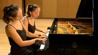 Mendelssohn-Bartholdy:Andante & Allegro Brilliante op.92 - Piano Duo Ani & Nia Sulkhanishvili