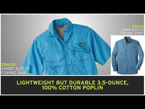Eddie Bauer EB606 Mens Fishing Shirt - A2ZClothing.com