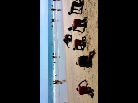 Lifesaving training South African style