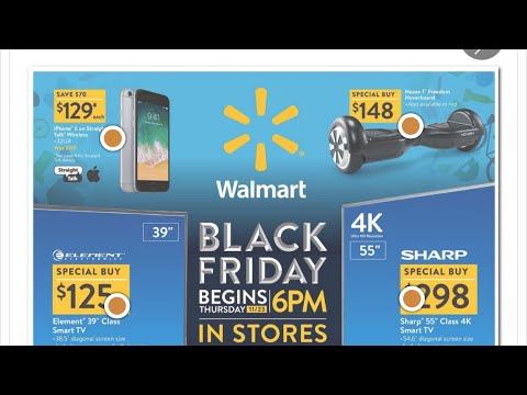 Walmart Black Friday Ad. 2017