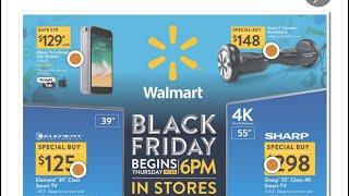 Walmart Black Friday Ad. 2017