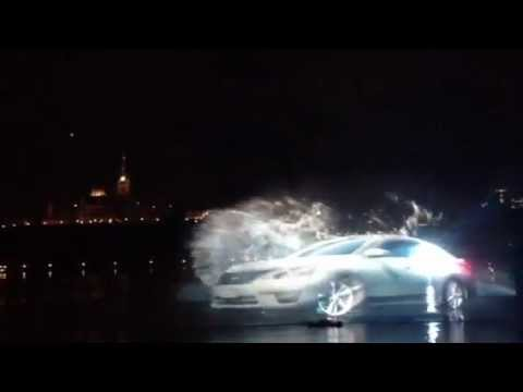 2013 Nissan Altima Ad 3d Water Projection Ottawa July