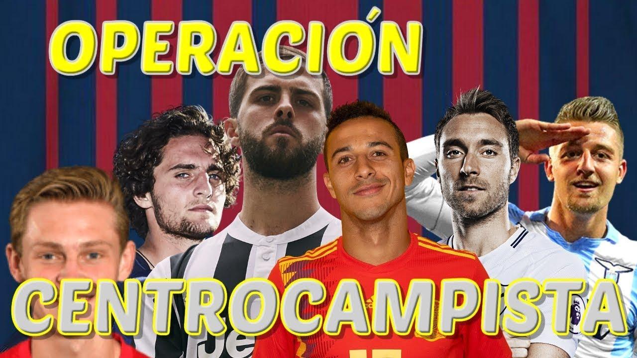 👤 El Barça da el OK a la OPERACION CENTROCAMPISTA 🔴🔵