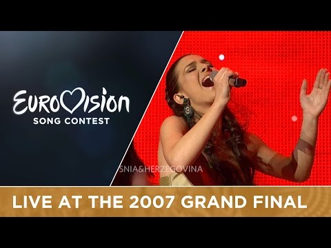 Marija Sestic - Rijeka Bez Imena (Bosnia & Herzegovina) Live 2007 Eurovision Song Contest