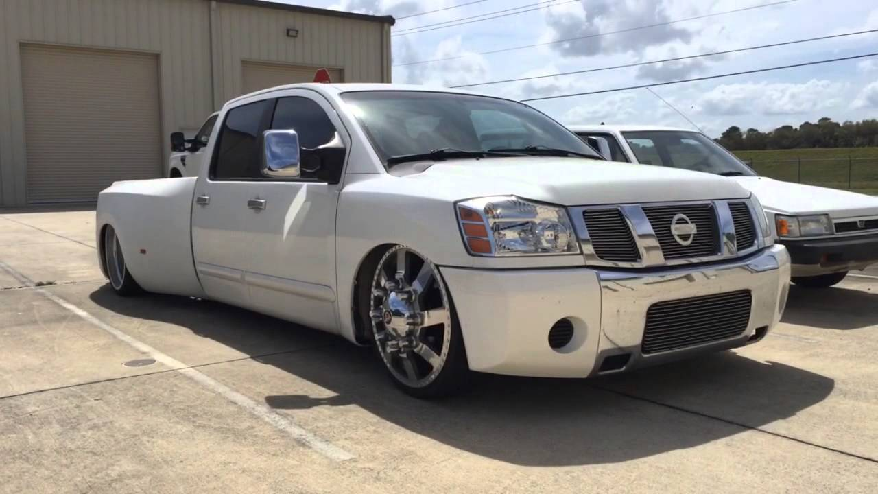 Jimmy Graham S 2007 Nissan An One Off Custom Dually Hundreds Of Hours In This Build