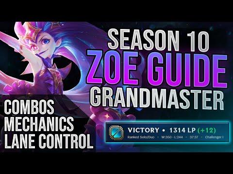 Grandmaster Zoe Guide To Climb In Season 10!!!!!