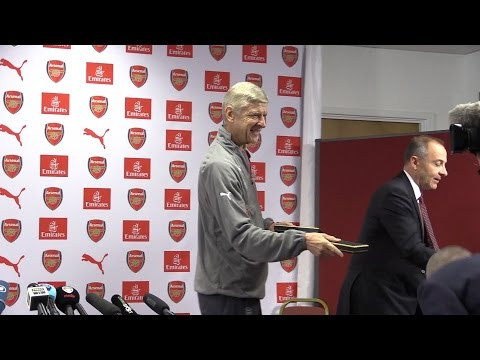 Arsene Wenger Full Pre-Match Press Conference - Burnley v Arsenal - 20th Arsenal Anniversary
