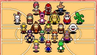 Mario Hoops 3-on-3 - All Special Shots & Alley-oops