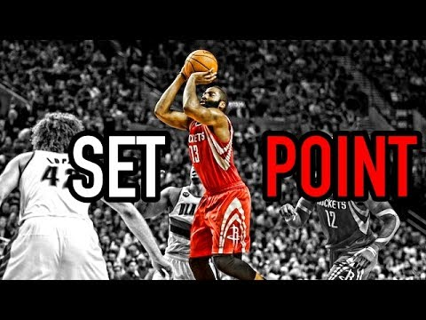 Basketball Set point Comparison (Curry, Kyrie, Harden, Lillard)