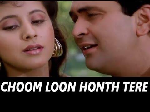 """Chum loon honth (from """"shreemaan aashique"""") kumar sanu   shazam."""