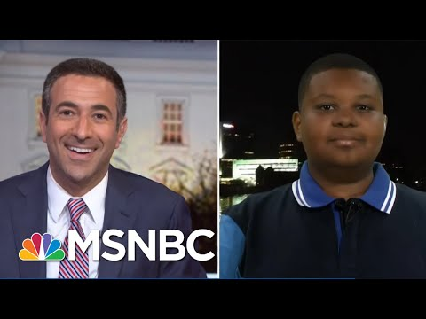 Meet Jaden Jefferson: The 11-Year-Old Reporter On The 2020 Trail | The Beat With Ari Melber | MSNBC