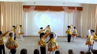 Русский народный танец в детском саду