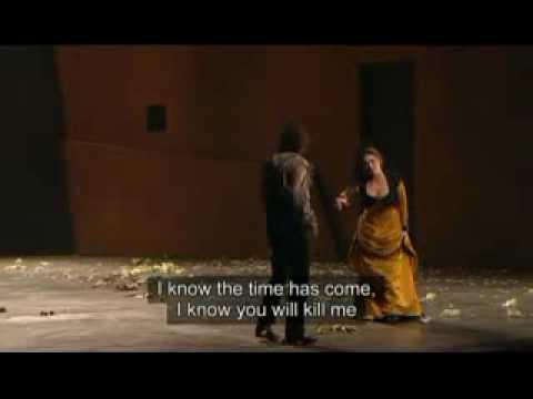 Anna Caterina Antonacci-Finale of Carmen