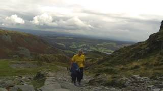 Coniston October 2016 Navigation with Garmin Fenix 3