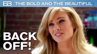 The Bold and the Beautiful / Hope Tells Ivy To BACK OFF Liam!