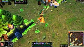 League of Legends: Sun Goddess Karma In-Game Skin