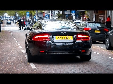 Aston Martin DB9 w/ Larini Exhaust -  Startup, Revs & Accelerations!