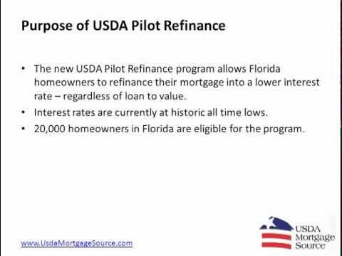 Refinance USDA Rural Housing Loan