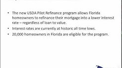 Refinance USDA Rural Housing Loan