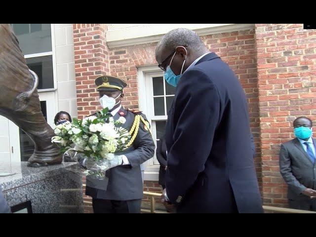 Hommage au Premier Ministre Amadou Gon Coulibaly à Washington DC