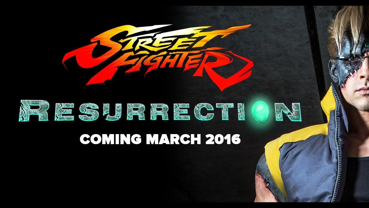 Download Street Fighter Resurrection Trailer - Reaction