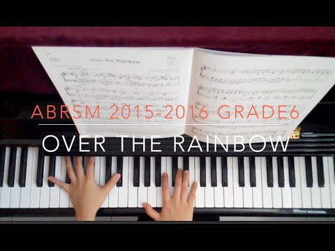 ABRSM 2015-2016 Grade 6 C1 Over the Rainbow