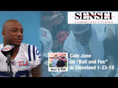 Cato June on Bull and Fox in Cleveland 1 23 15