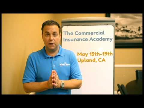 Commercial Insurance Academy From James Russ