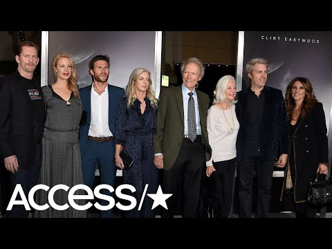 Clint Eastwood's Family Steps Out With Him At 'The Mule' Premiere! | Access
