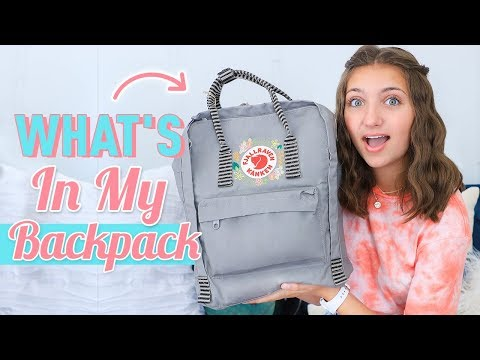 What's in My Backpack | Back to School 2019