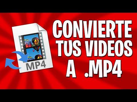 CONVIERTE tus VIDEOS a MP4 Desde tu CELULAR