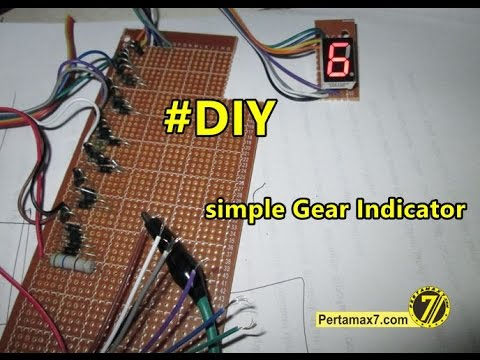 Diy Simple Led Gear Indicator Youtube