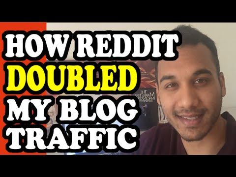 How One Reddit Post Doubled My Blog Traffic