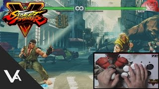 Street Fighter V - How To Do Shoryuken Motions From Crouching Attacks