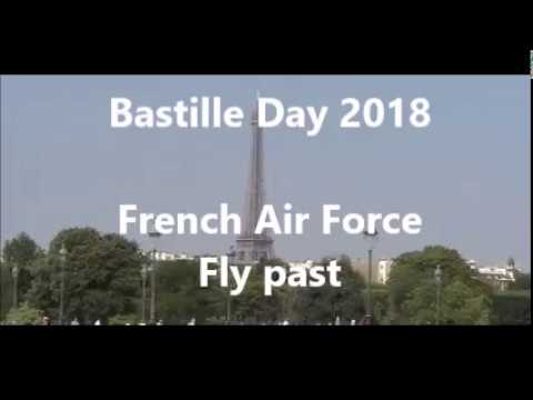 Bastille Day 2018 fly-past unveils new French flag!