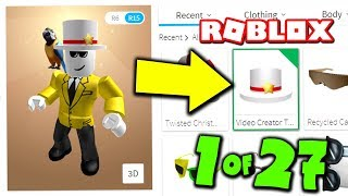 THERE IS ONLY 27 OF THIS ROBLOX ITEM MADE.. *AND I HAVE IT*