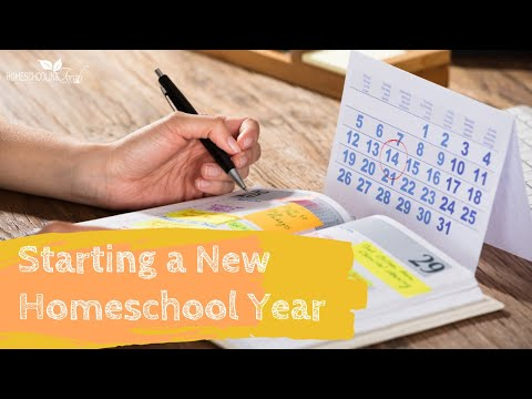 Session 5 - Starting New Homeschool Year