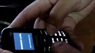 Codigo de reseteo de Samsung E1205