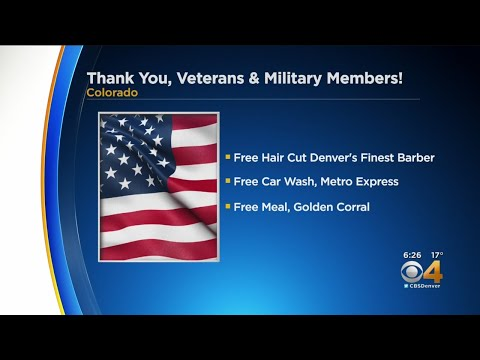 Laura KBPI - Discounts and Freebies for Veterans Day