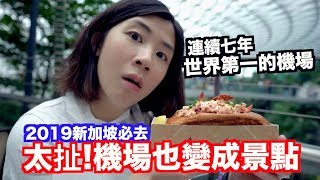 《新加坡自由行ep1》花了400億!好吃又好玩的星耀樟宜Shopping Mall