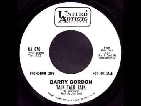 Barry Gordon * Talk Talk Talk