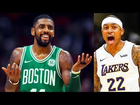 Kyrie Irving reacts to Cavaliers Trading Isaiah Thomas, Dwyane Wade and Derrick Rose (Parody)