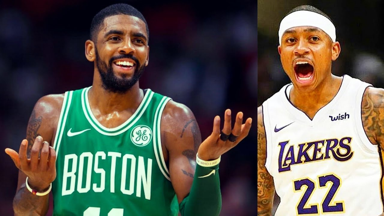 5b14caf80ae7 Kyrie Irving reacts to Cavaliers Trading Isaiah Thomas